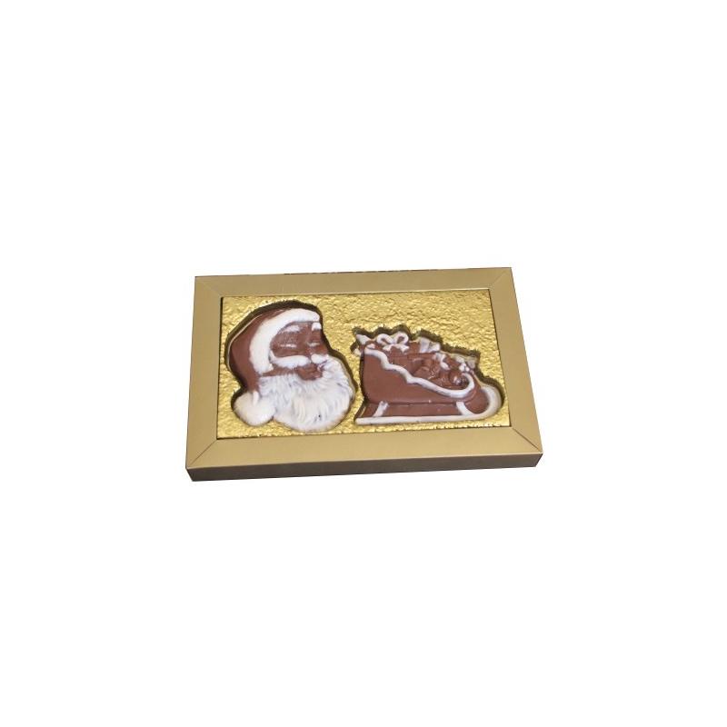 Caixa Noel + trenó