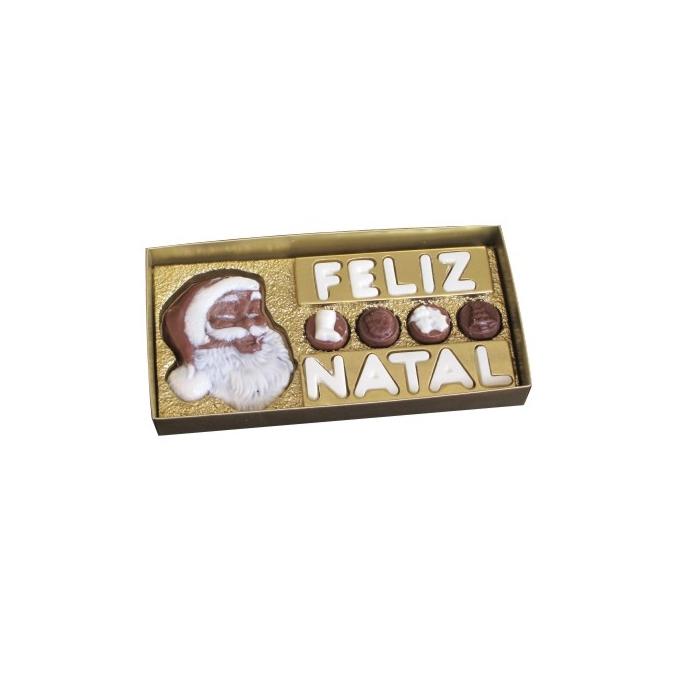 Caixa Feliz Natal + Noel + 4 BB