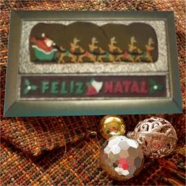 Caixa 2 placas Natal