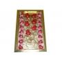 Caixa Rosas sem Placa + 16BB  Papel Metalizado