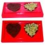 Caixa 2 corações - colher