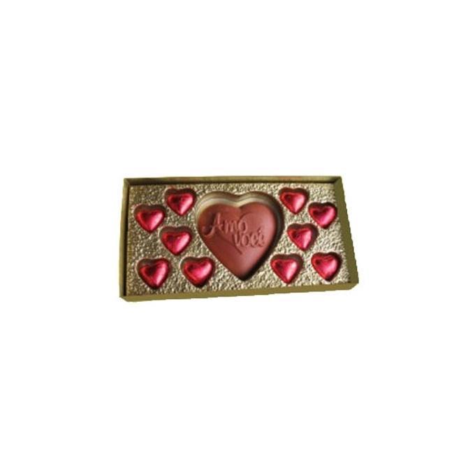 Caixa 1 Coração + 10 mini