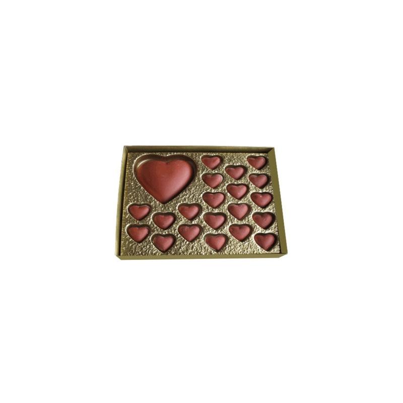 Caixa 1 Coração + 20 mini